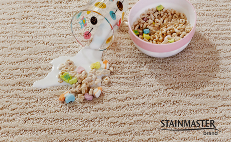 stainmaster and spilled cereal